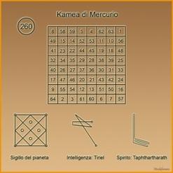 Kamea di Mercurio