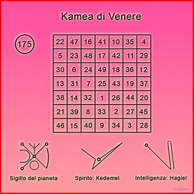 Kamea di Venere copia