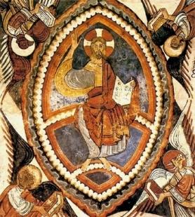 pantocrator capilla de los reyes de San Isidoro de León