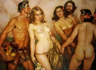 Spring's Innocence by Norman Lindsay (1937)