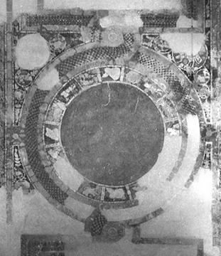 Pantokrator Monastery (Zeyrek Camii) (1118-36) cross-in-square architecture, heröon, zodiac. Ousterhout, Robert