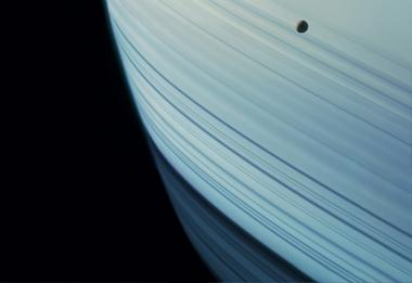 Enceladus Geysers Water into Space, Cassini, December, 25, 2009, 2012