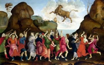 LIPPI-Filippino-The-Worship-of-the-Egyptian-Bull-God-Apis