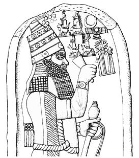 In 679 B.C. Esarhaddon