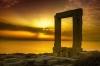 Sunset in Portara, Naxos