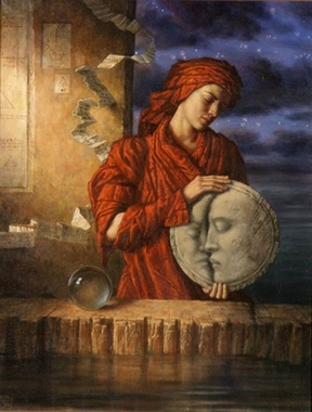 Drawing Down the Moon, c. 2000 by Jake Baddeley