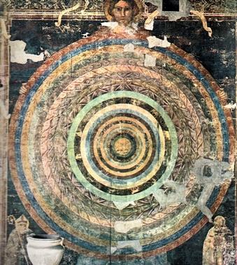 Piero di Puccio - Cosmografia Teologica, 1389-1391
