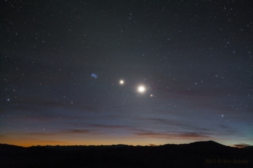 a-morning-line-of-stars-and-planets