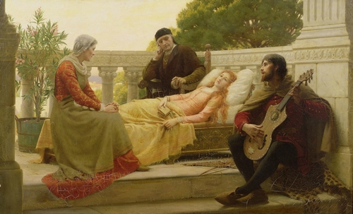 edmund-blair-leighton-how-liza-loved-the-king-1890