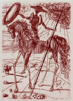 salvador-dali-don-quixote-1971