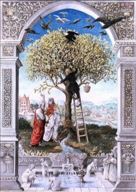 laurie-lipton-splendor-solis-the-tree-of-alchemy-1989