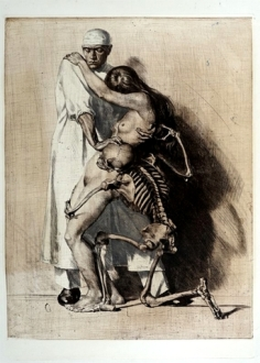 DOCTOR, GIRL AND DEATH (1920) By Ivo Saliger_5
