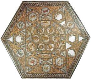 Bir-Chana Mosaic zodiac