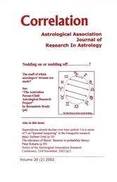 correlation astrological association