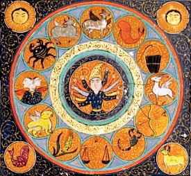Imperial Ottoman Calendar made for Sultan Abdulmecid I