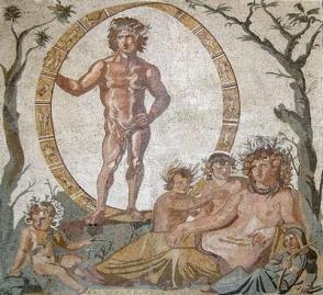 Zodiac Mosaic-Sentinum-Sassoferrato