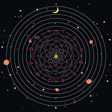 astrological-wheel-projection-with-zodiac-sym