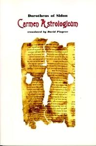 Carmen astrologicum – Dorotheus of Sidon